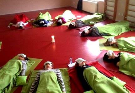 cvičení v sále 2