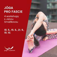 workshop jogy pro fascie