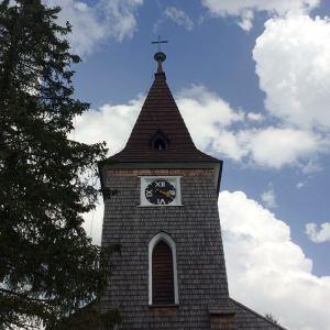 Joga Kvilda - obrazek kostel sv. Stepana