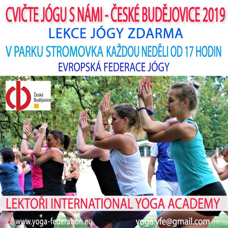 Cvicte jogu s nami v Ceskych Budejovicich