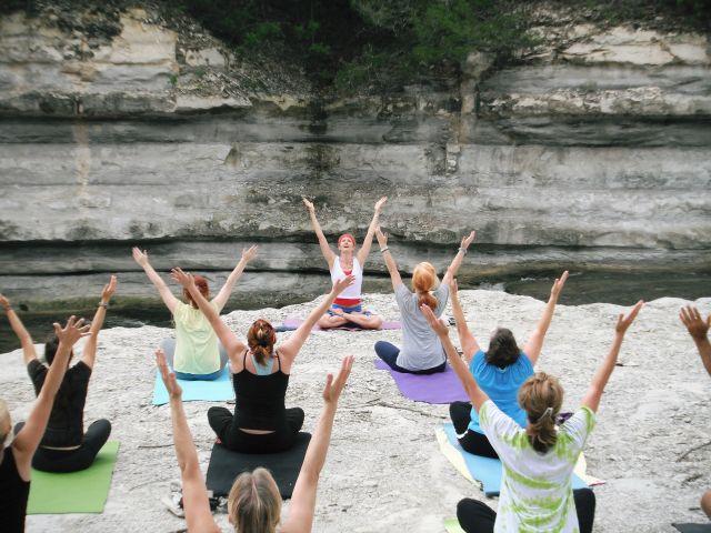 ženy jóga
