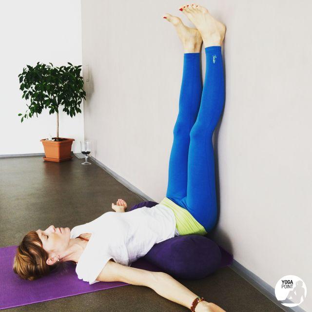 viparita karani pozice jóga