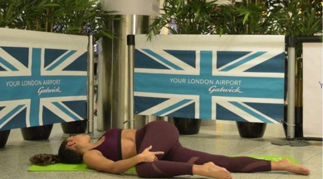 joga na letisti