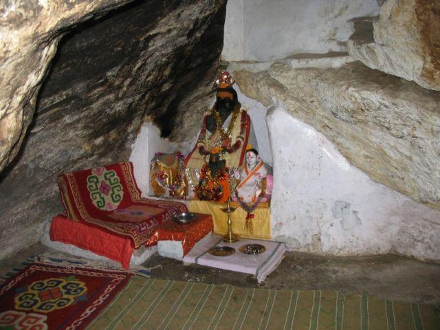 Vyasadevvova jeskyně