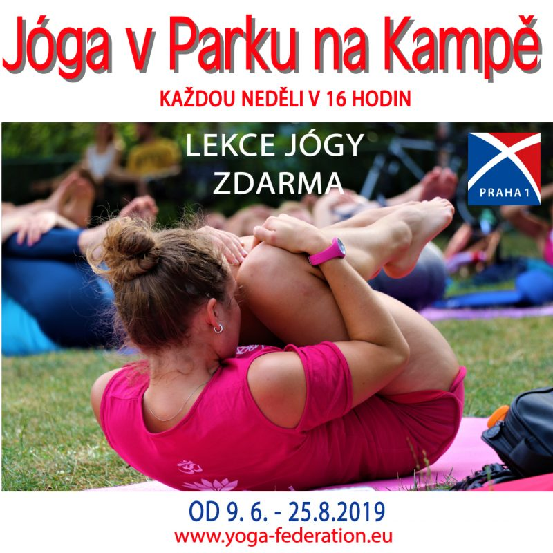 Joga v Parku na Kampe – Cvicte jogu s nami 2019